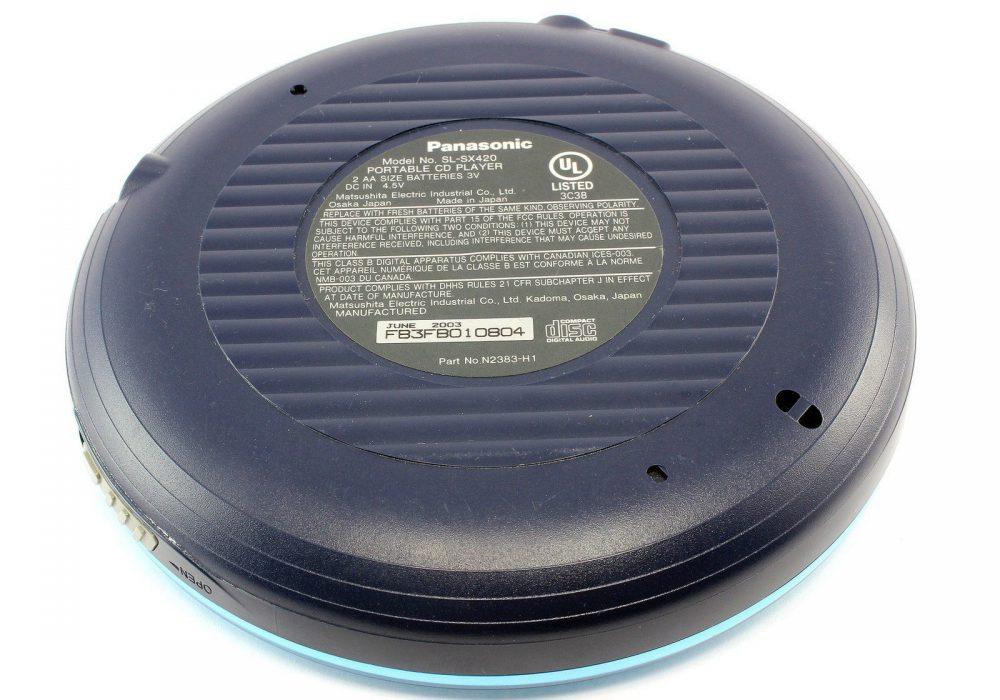 FOR Parts PANASONIC SL-SX420 Anti-Skip System 便携 MP3/CD Player