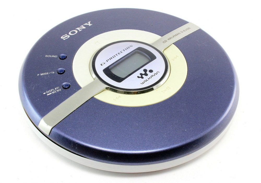 SONY Psyc D-EJ100 CD 随身听 G-Protection 便携 CD Player