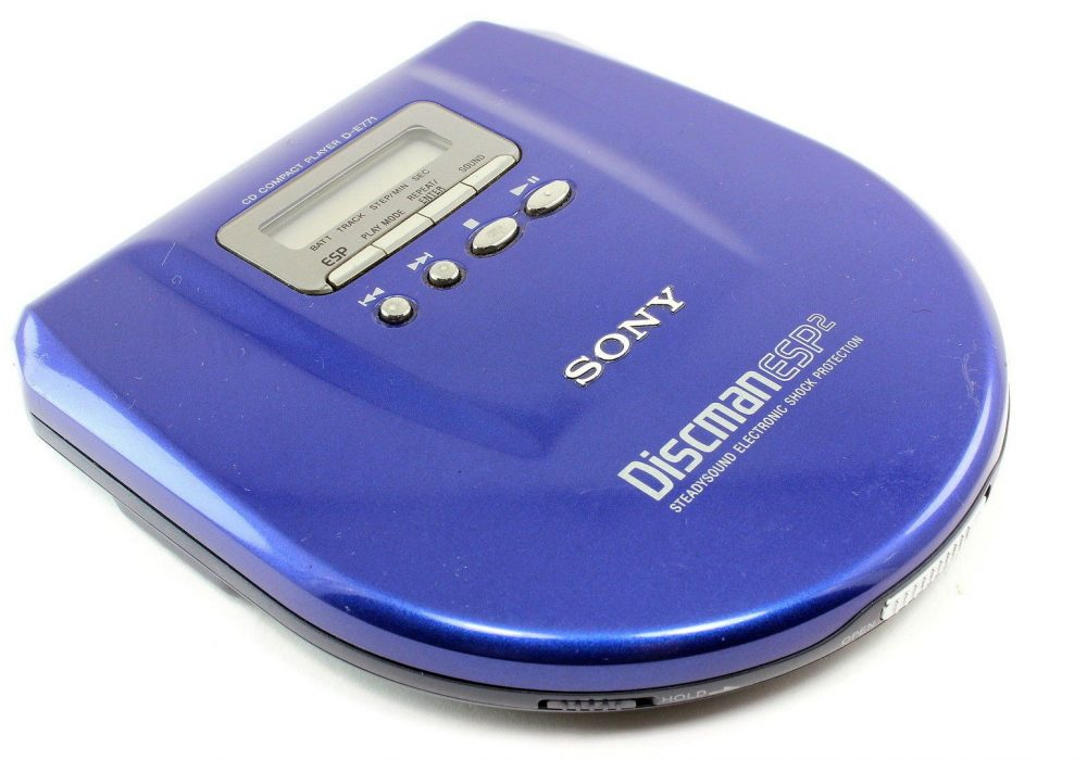 SONY Discman ESP2 D-E771 便携 CD Player
