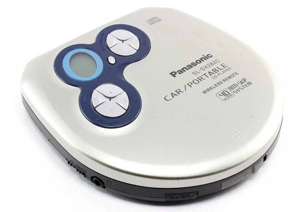 PANASONIC SL-SX282C 40 Seconds Anti-Skip System Car/便携 CD Player