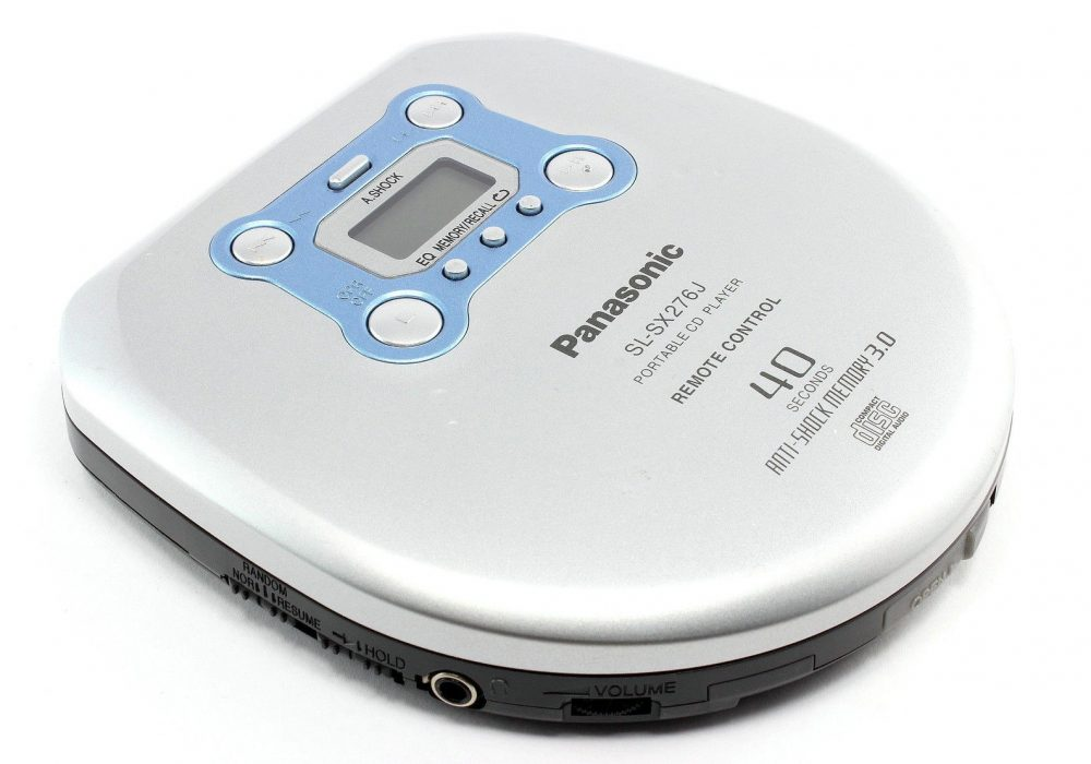 PANASONIC SL-SX276J 40 Seconds Anti-Shock Memory 3.0 便携 CD Player