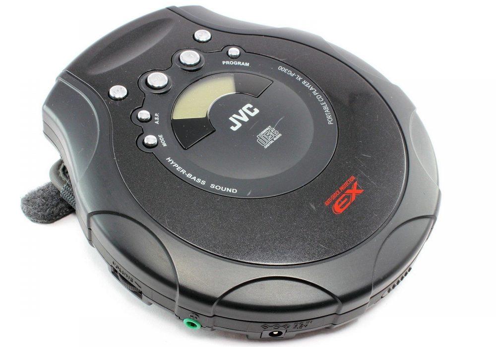 JVC XL-PG300 便携 CD Player Hyper-BASS Sound Anti-Shock Protection EX