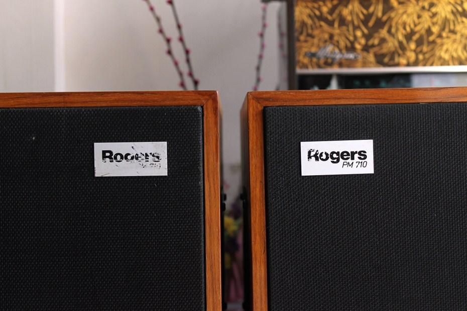 乐爵士 Rogers LS5/8(PM710) 监听音箱