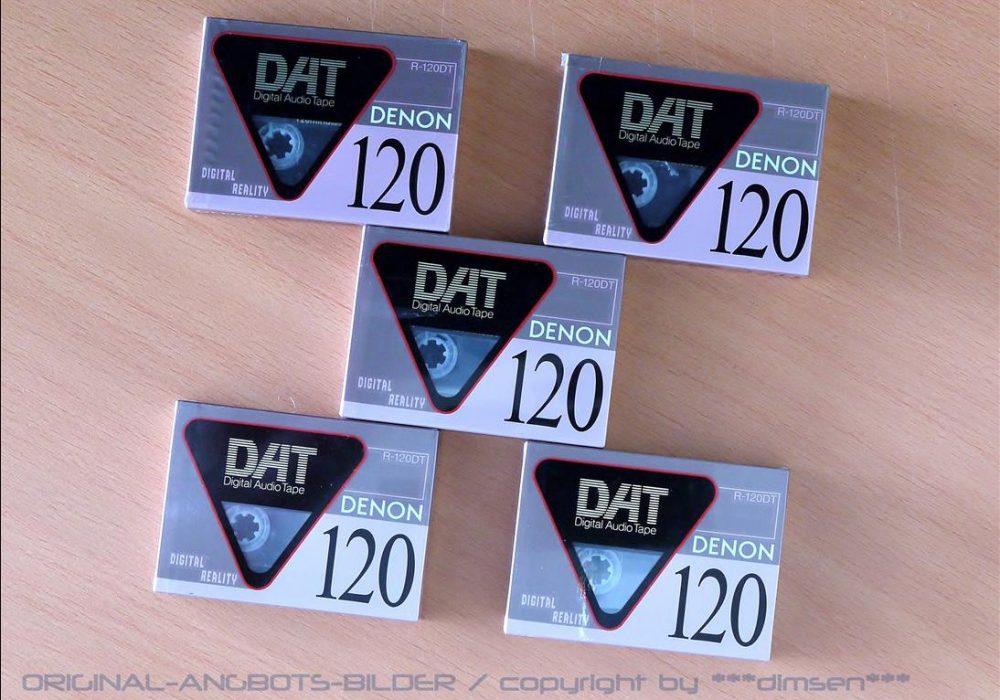天龙 DENON R-120 DAT 空白带