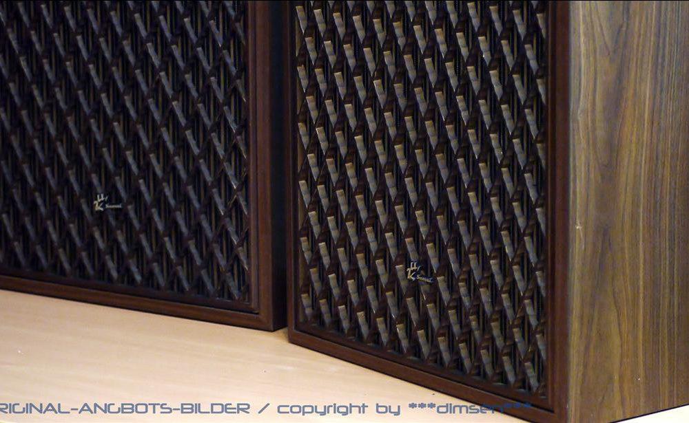 山水 SANSUI SP-5500X 古董发烧音箱