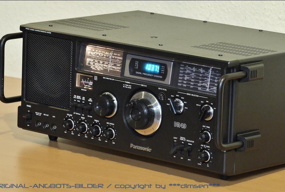 松下 PANASONIC DR49 世界短波接收机 收音机