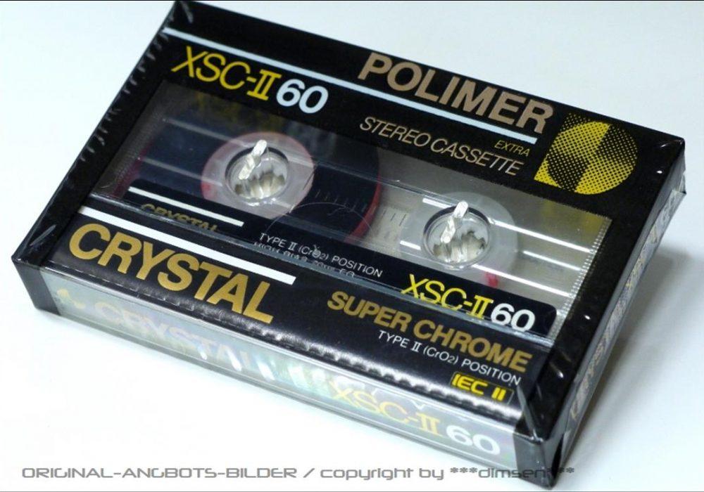 POLIMER CHRYSTL 空白录音磁带