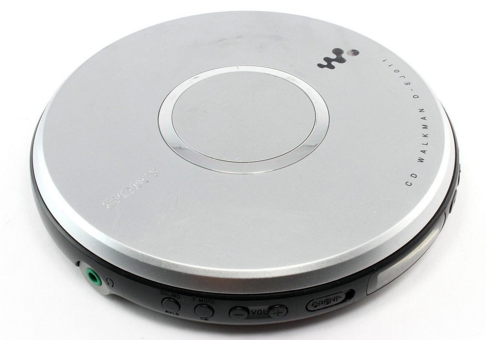 SONY 随身听 D-EJ011 便携 CD Player CD-R/RW G-Protaction