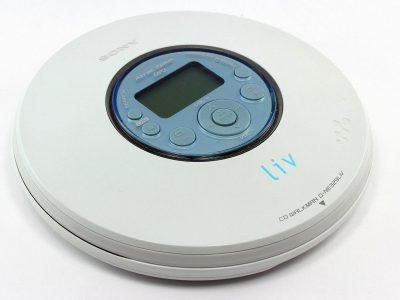 SONY Liv D-NE329LIV CD 随身听 G-Protection 便携 CD-R/RW MP3 Player