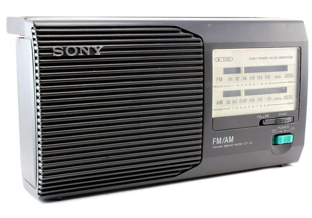 SONY ICF-24 便携 AM/FM Radio