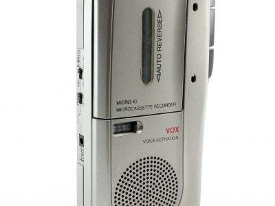 RADIO Shack RadioShack Micro-43 Handheld Micro磁带 Voice 录音机