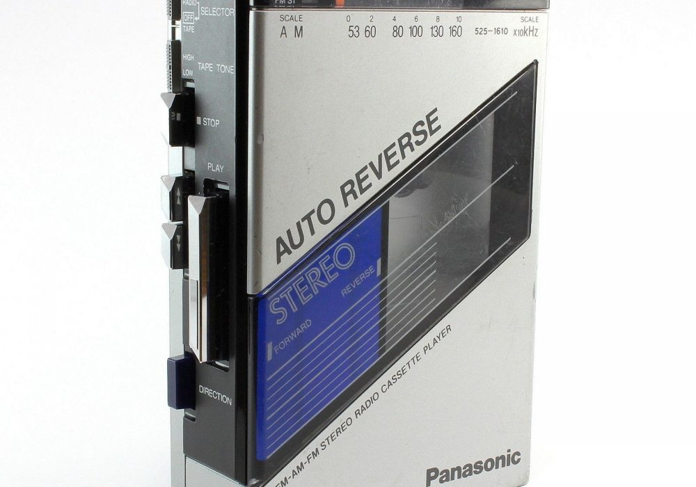 PANASONIC RX-S25A 便携 Stereo 磁带播放机 with AM/FM Radio FOR Parts