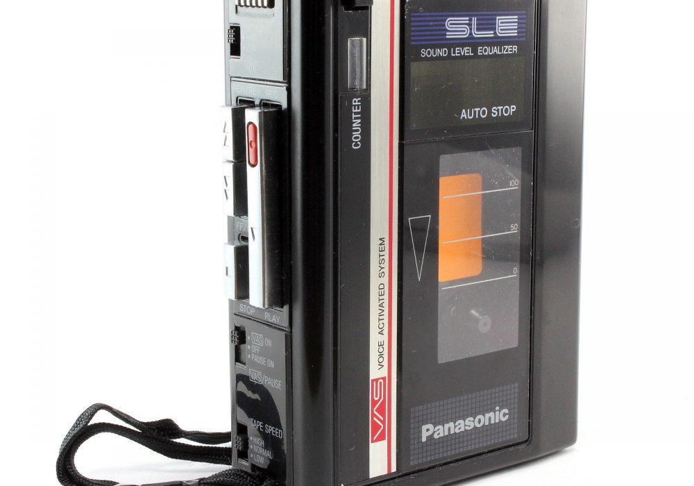 PANASONIC RQ-330 Handheld 便携 磁带 录音机/Player For Parts or Repear