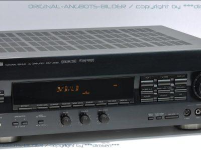 雅马哈 YAMAHA DSP-A592 家庭影院AV功率放大器