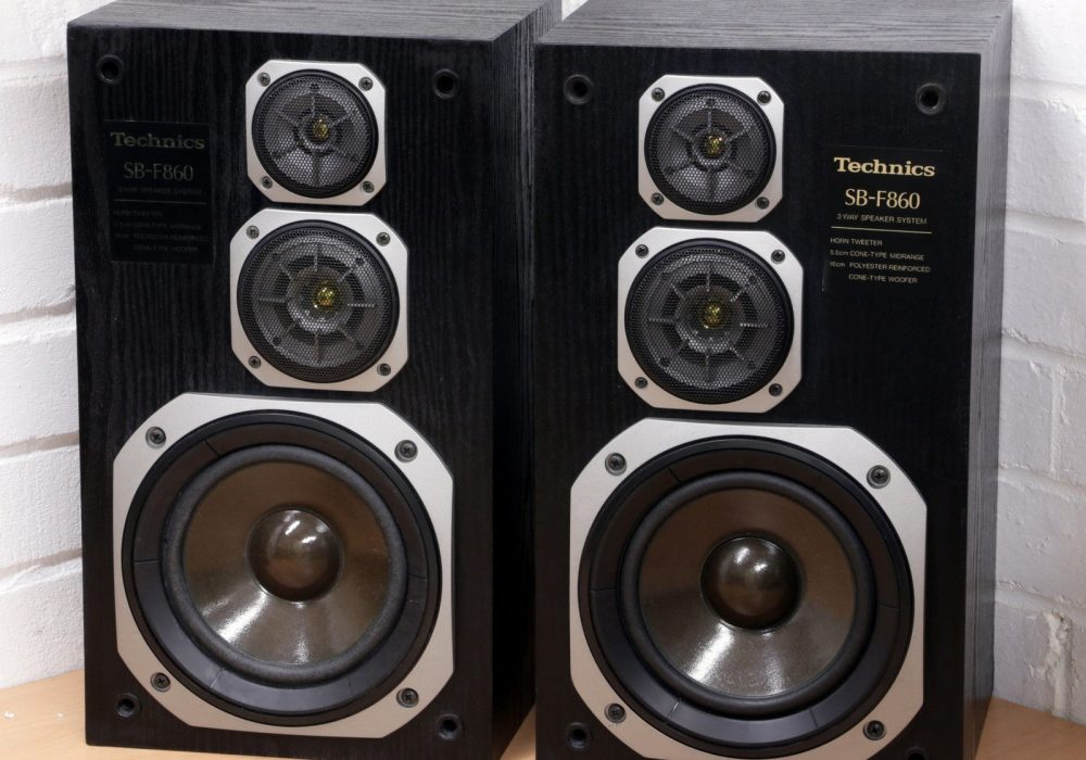Technics SB-F860 classic vintage 80's 3 way speaker system Made in Spain 99p NR