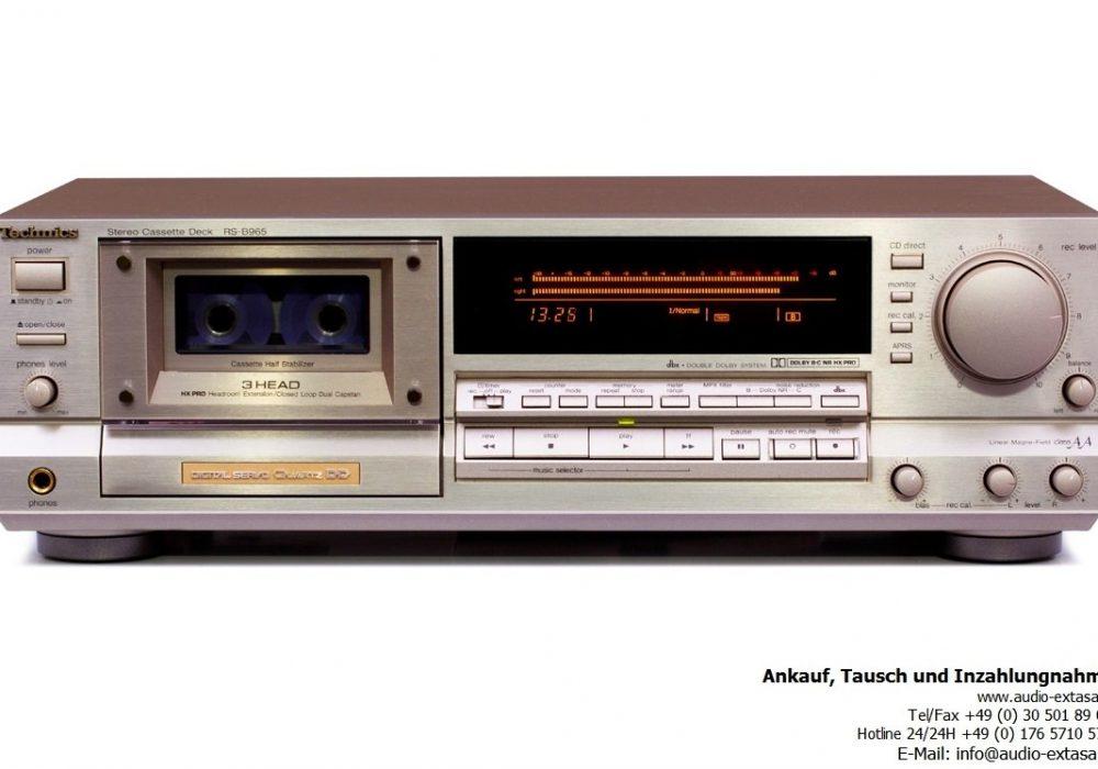 Technics RS-B965 卡座