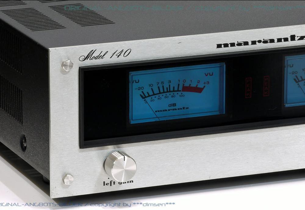 马兰士 MARANTZ MODEL 140 功率放大器