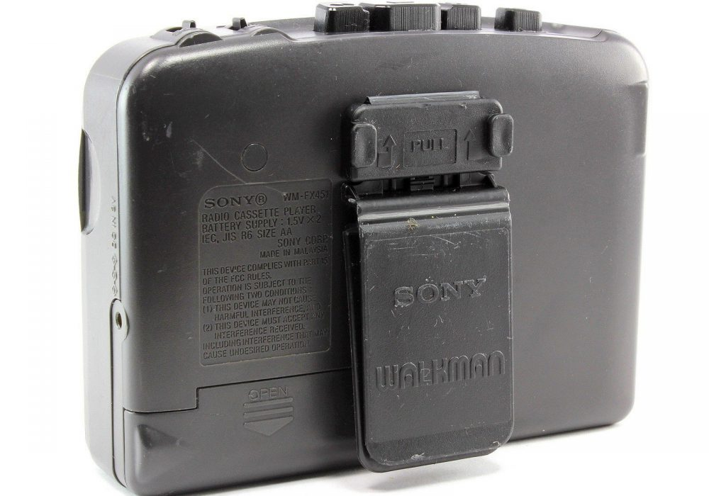 SONY 随身听 WM-FX451 Personal Stereo 磁带播放机 AM/FM Radio