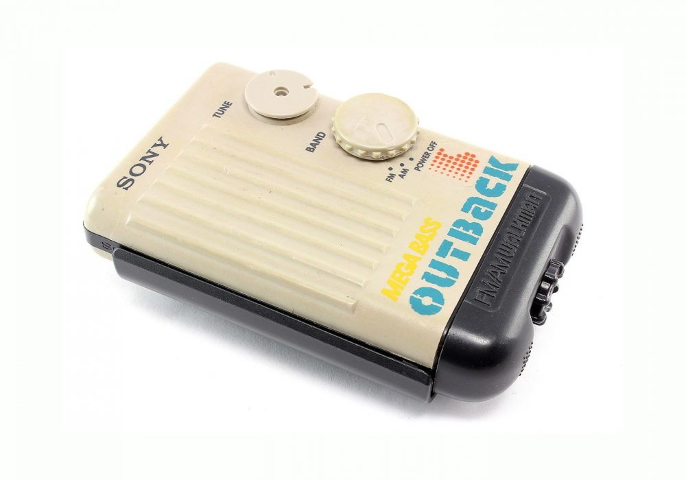 SONY Outback SRF-75 便携 FM/AM 收音机