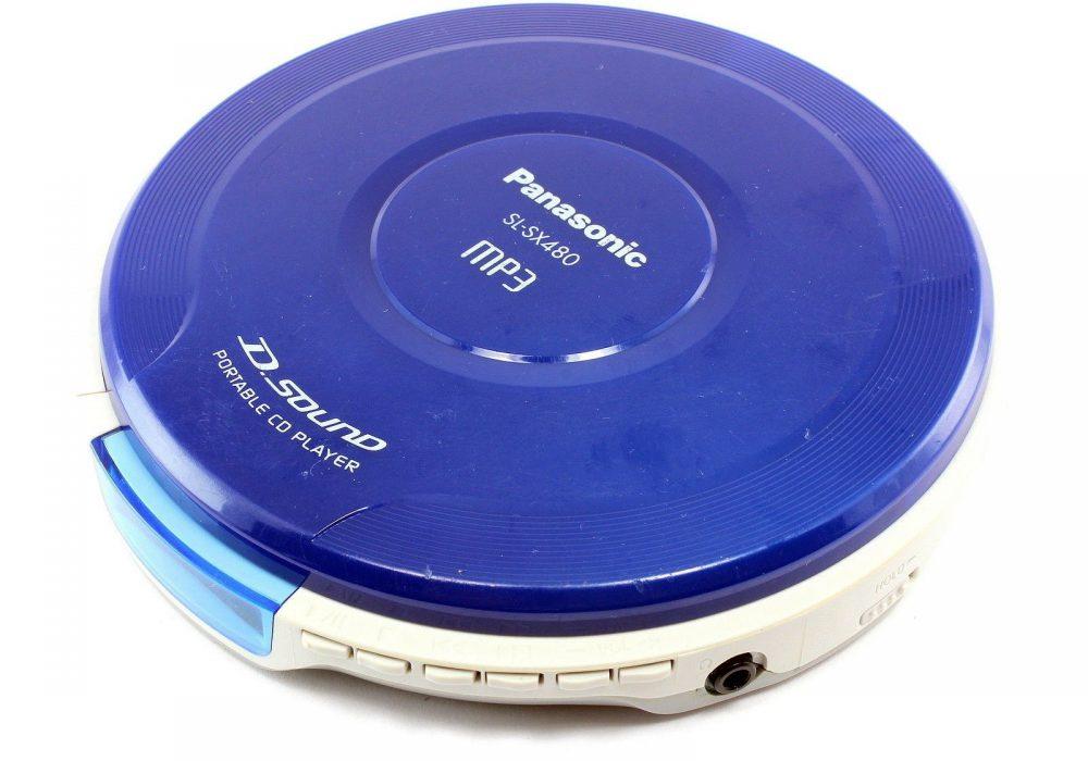 PANASONIC SL-SX480 MP3 便携 CD Player D.Sound Display not working