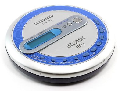 PANASONIC SL-SV573J MP3 便携 CD Player D.Sound With FM/AM Radio
