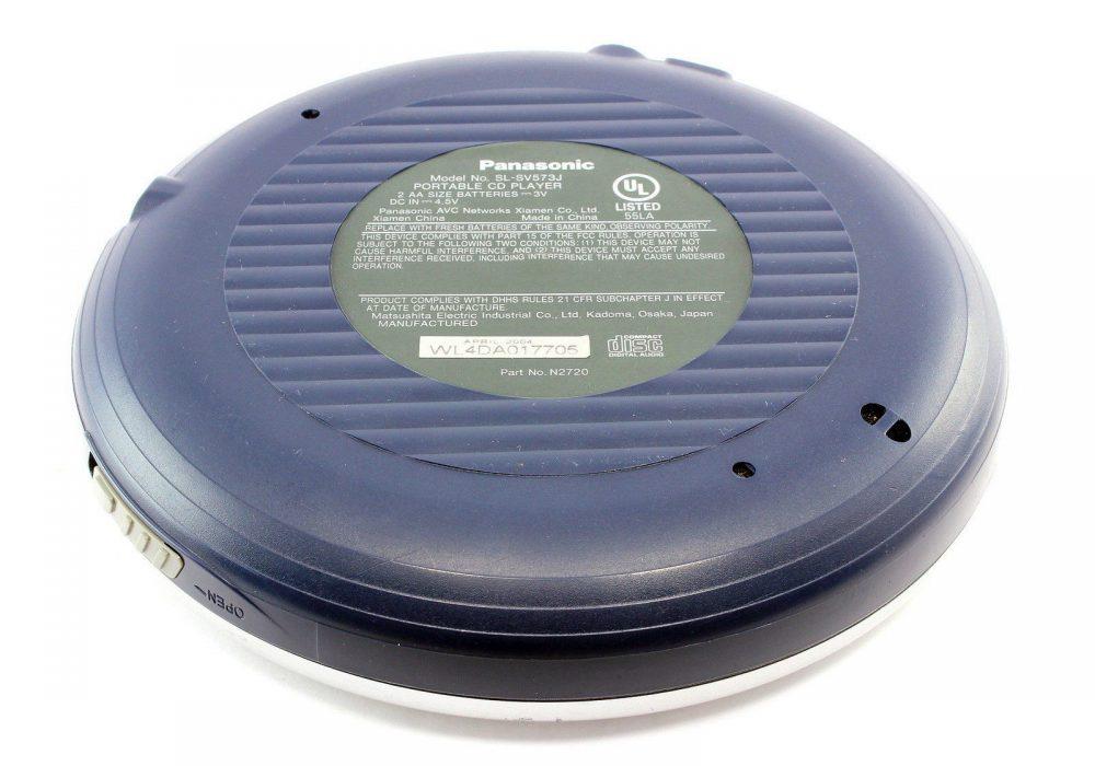 PANASONIC SL-SV573J MP3 便携 CD Player D.Sound With FM/AM Radio