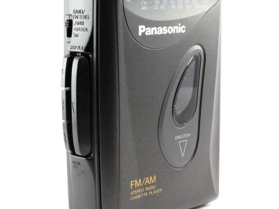 PANASONIC RQ-V59 便携 Stereo 磁带播放机 with AM/FM Radio