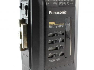 PANASONIC RQ-V158 便携 Stereo 磁带播放机 with AM/FM Radio