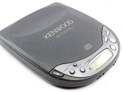 KENWOOD DPC-471 便携 Compact Disc CD Player