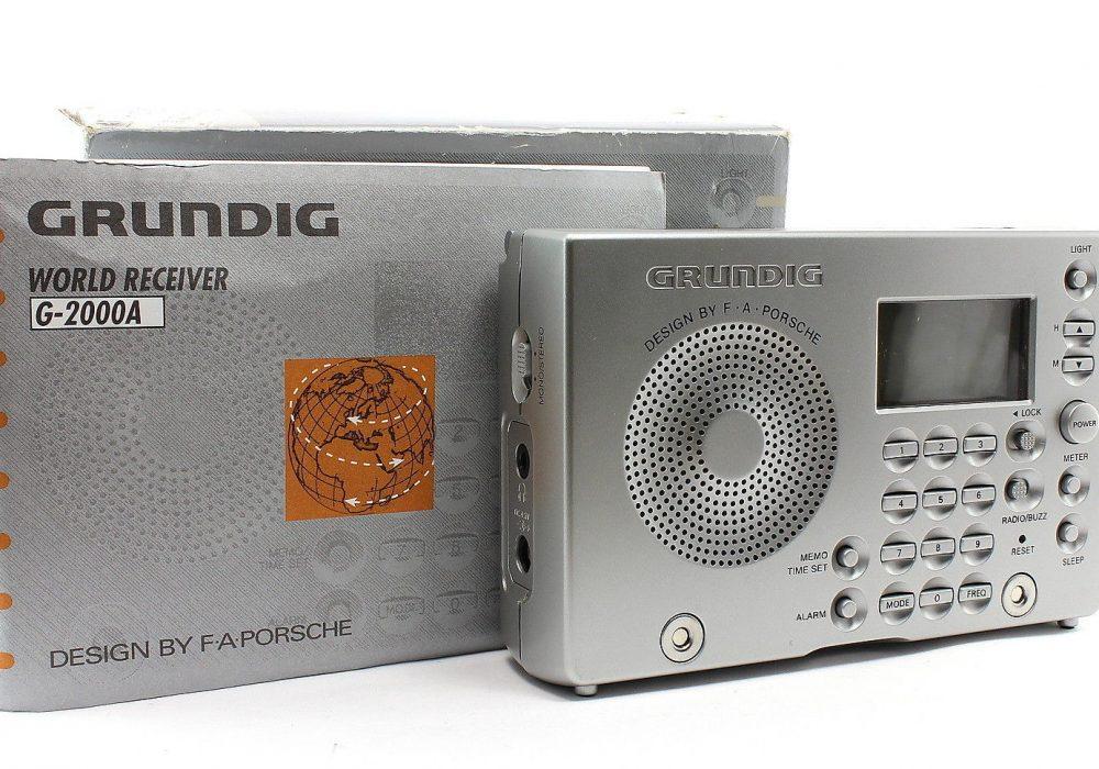 GRUNDIG G-2000A AM/FM/MW/SW1/SW2 便携收音机