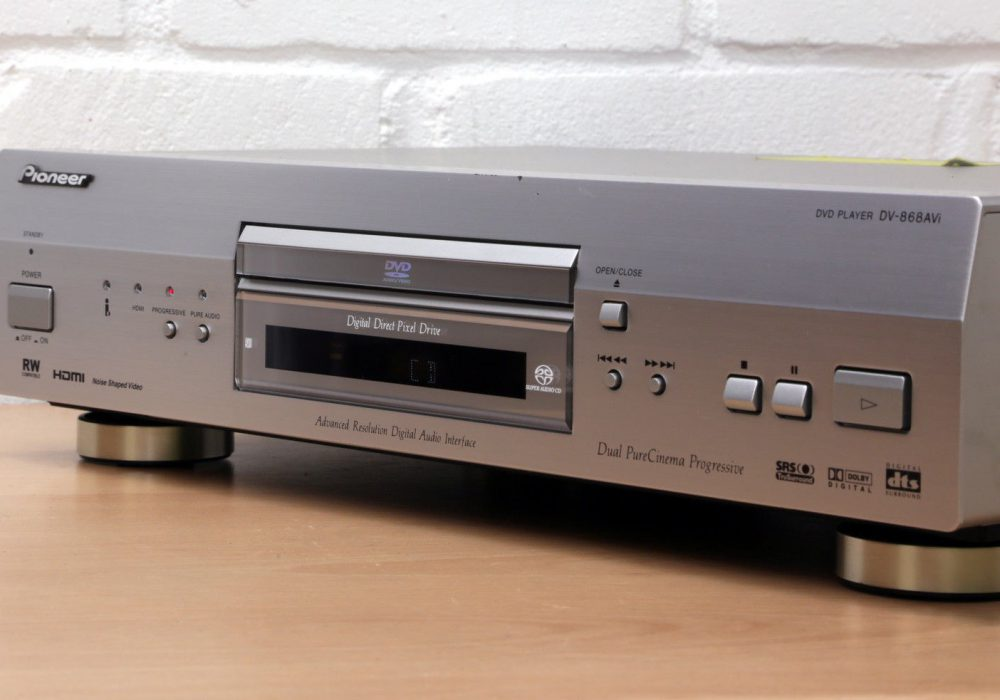 PIONEER DV-868AVI Universal DVD/CD/SACD/DVD-Audio player with HDMI™ 99p NR