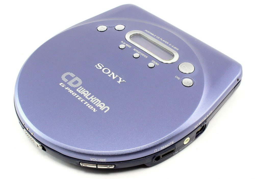 索尼 SONY D-EJ815 CD WALKMAN CD随身听