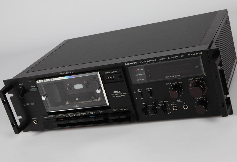 Sanyo Plus Series D-62 Cassette Deck
