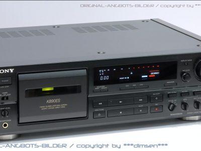 索尼 SONY TC-K890ES 三磁头卡座