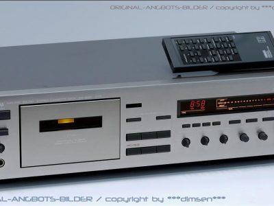 银色雅马哈 YAMAHA KX-930 三磁头卡座