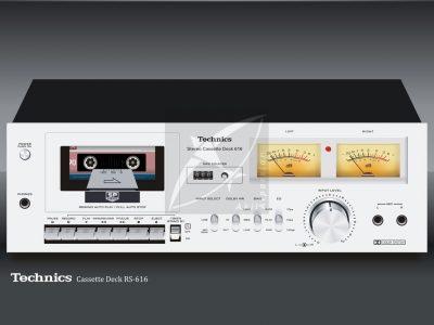 Technics Stereo Cassette Deck RS-616