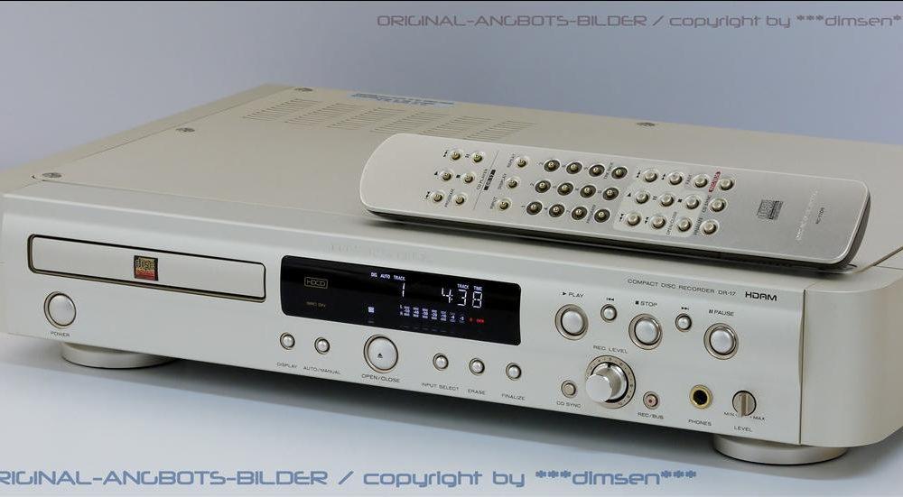 马兰士 MARANTZ DR-17 CD播放机