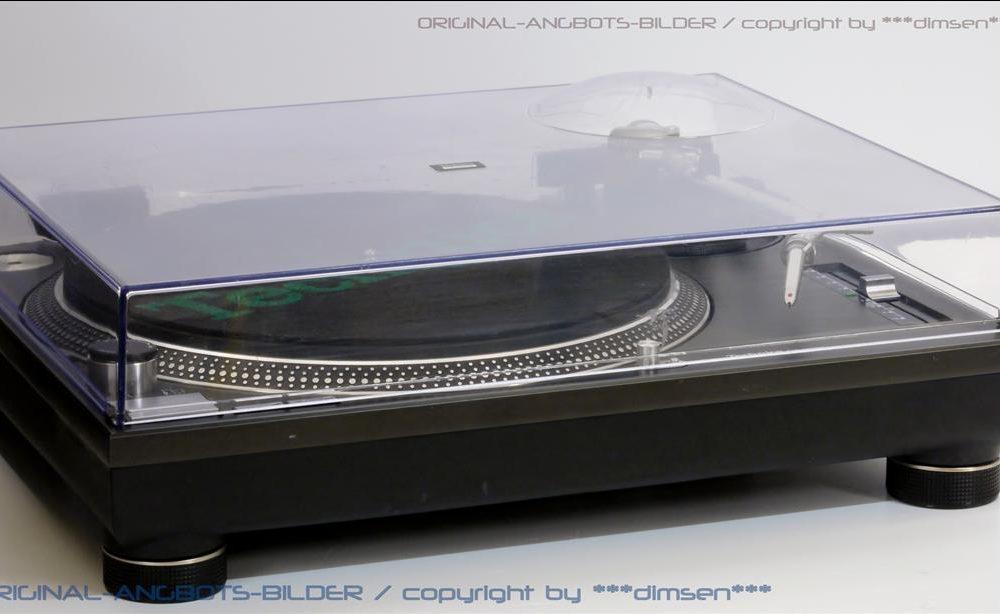 松下 Technics SL-1210MKII 黑胶唱机
