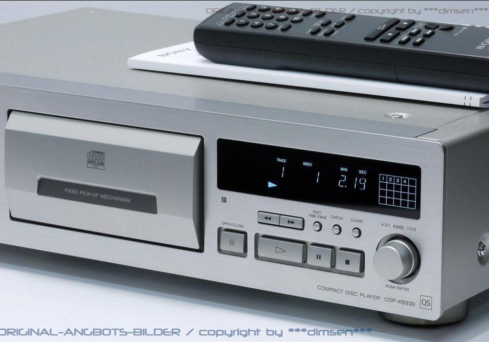 索尼 SONY CDP-XB930QS 高级CD播放机
