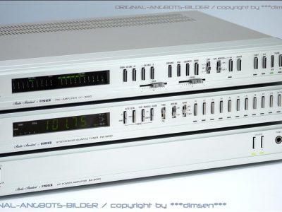 FISHER BA-9000后级功放、CC-90000前级功放、FM-90000 收音头