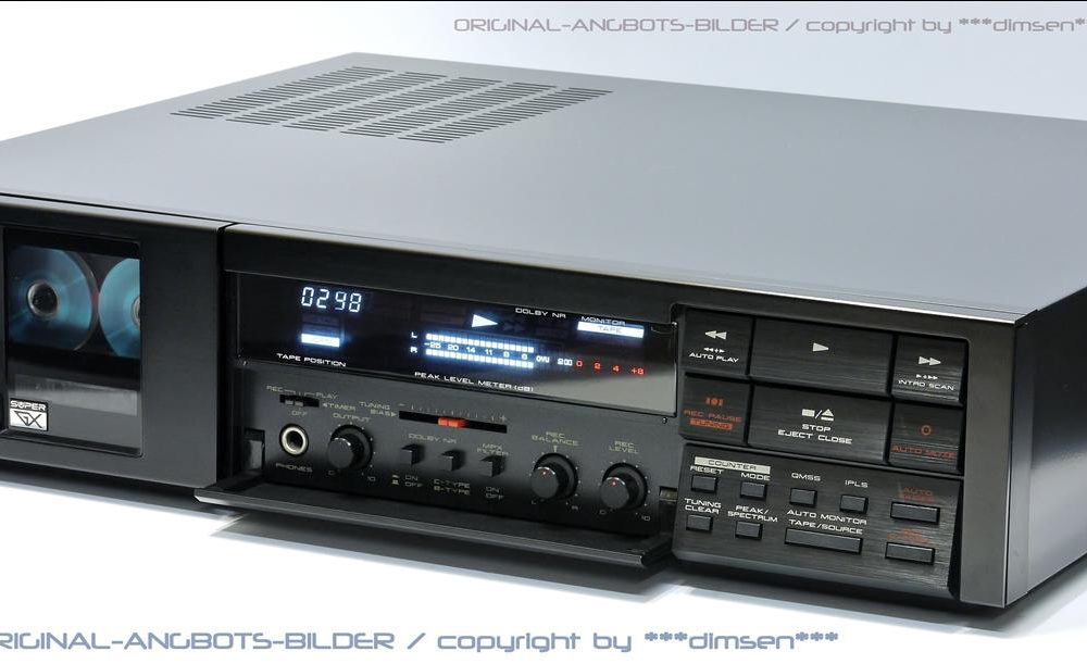 雅佳 AKAI GX-9 立体声卡座