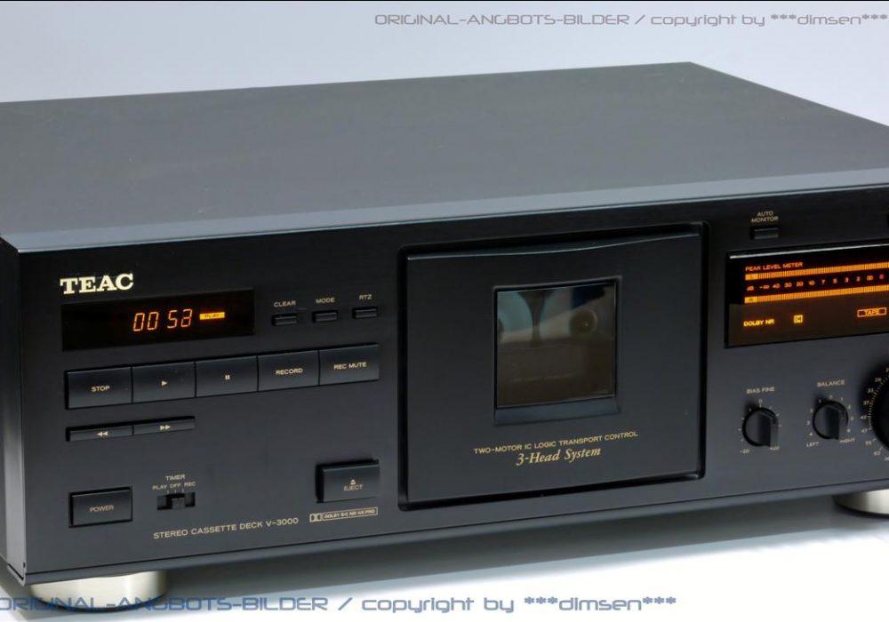 TEAC V-3000 三磁头立体声卡座
