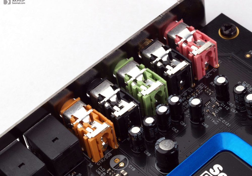 Creative 创新 Sound Blaster Recon3D PCIe 声卡 图集[Soomal]