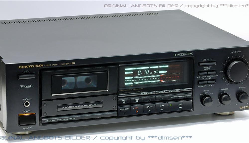 安桥 ONKYO Integra TA-2750 三磁头卡座