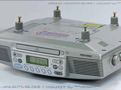 索尼 SONY ICF-CD533 厨房台下式 钟控CD收音一体机