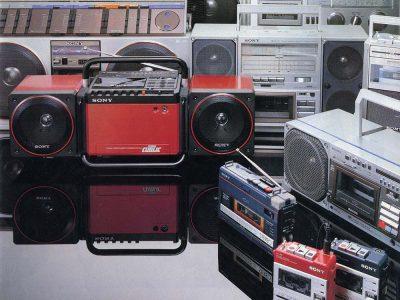 【资料】80年代日本巅峰时期的收录机,卡座,随身听