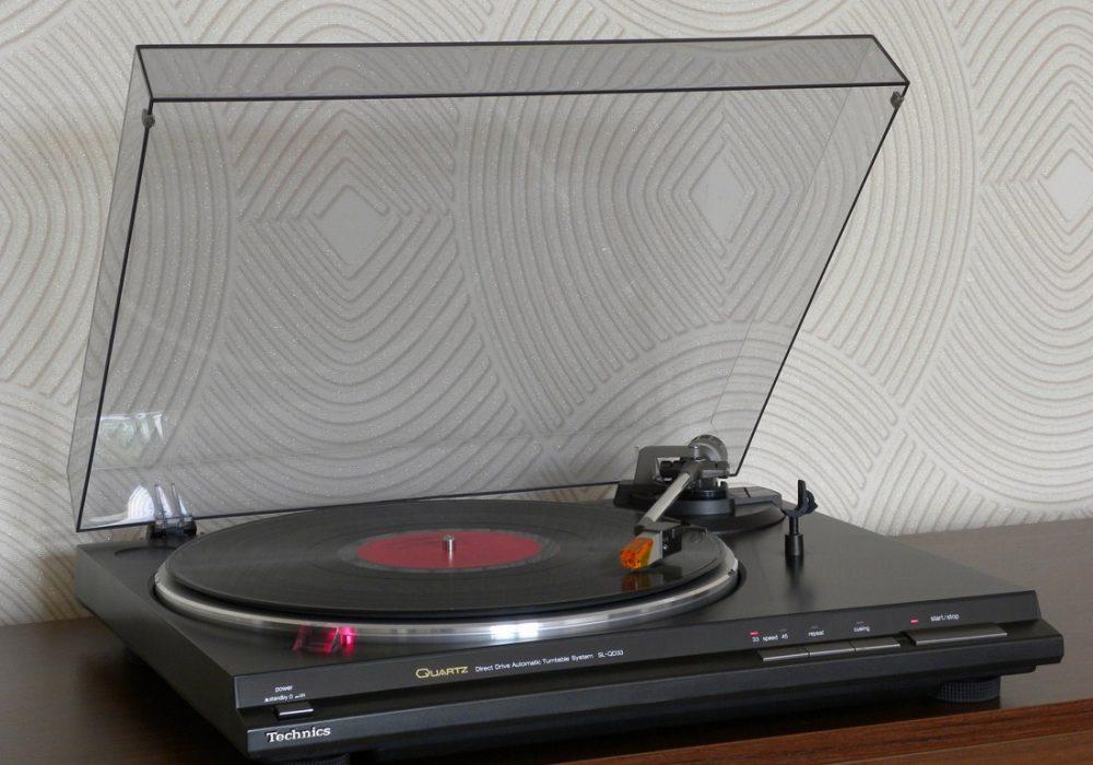 松下 Technics SL-QD33 黑胶唱机