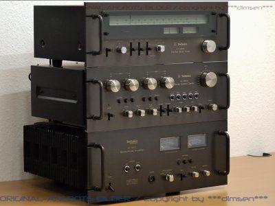 松下 Technics SU-9600 收音功放前后级 音响组合