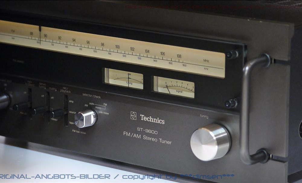 松下 Technics ST-9600 FM/AM 立体声收音头