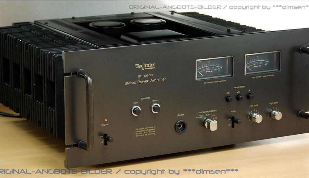 松下 Technics SE-9600 后级功率放大器